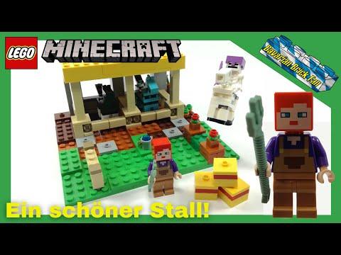 LEGO Minecraft 21171 - Der Pferdestall🐴 | Review+Unboxing deutsch