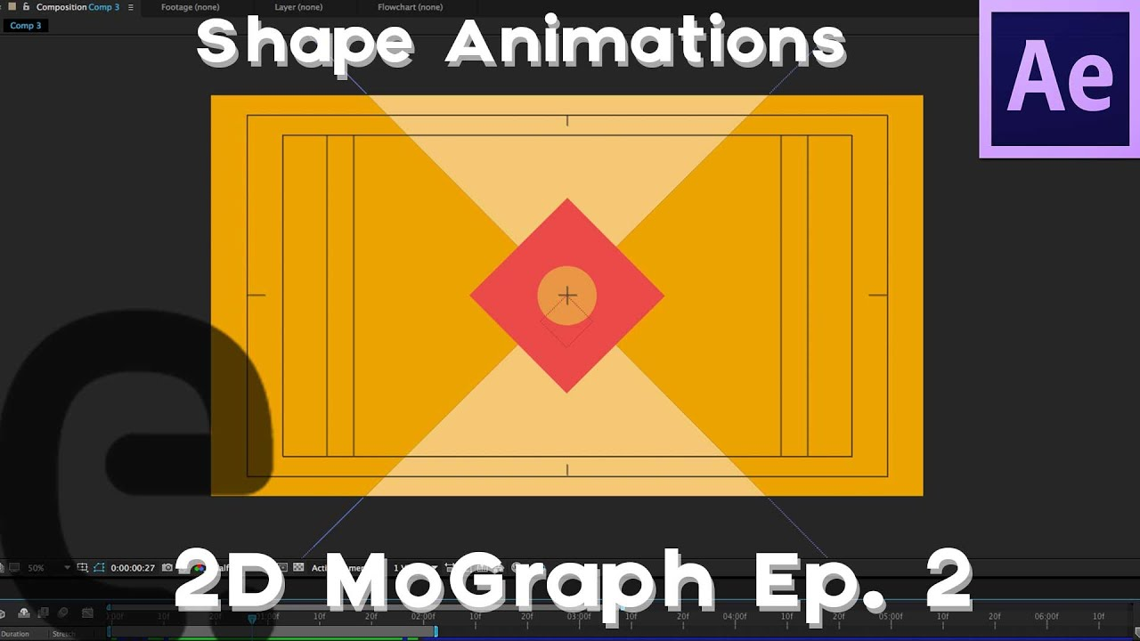 After Effects: Basic 2D Motion Graphics Tutorial   Episode 2 (Shape  Animations)