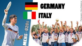 Italy v Germany U20s Men
