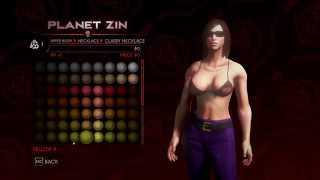 Saints Row 4 Character Customization 1080p Part 2 - Clothes Male and Female