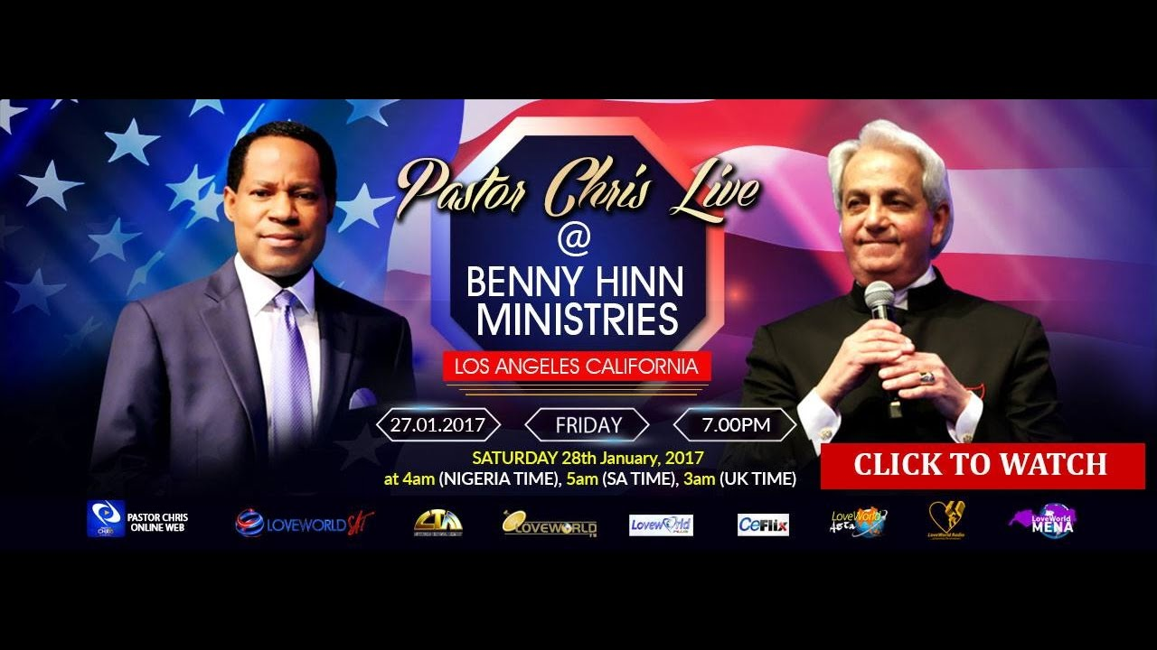 Image result for Final Day - PASTOR CHRIS HOSTS BENNY HINN at 2017 Special Pastors Conference (EPISODE 1)