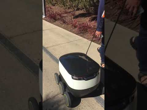 Silicon Valley. Food delivery by robots - В Кремниевой Долин