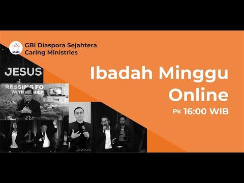 IBADAH RAYA DSCM ONLINE - MINGGU, 17 JANUARI 2021 - PK. 16.00. WIB