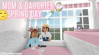 MOM & DAUGHTER SPRING DAILY ROUTINE!!! II Roblox Bloxburg