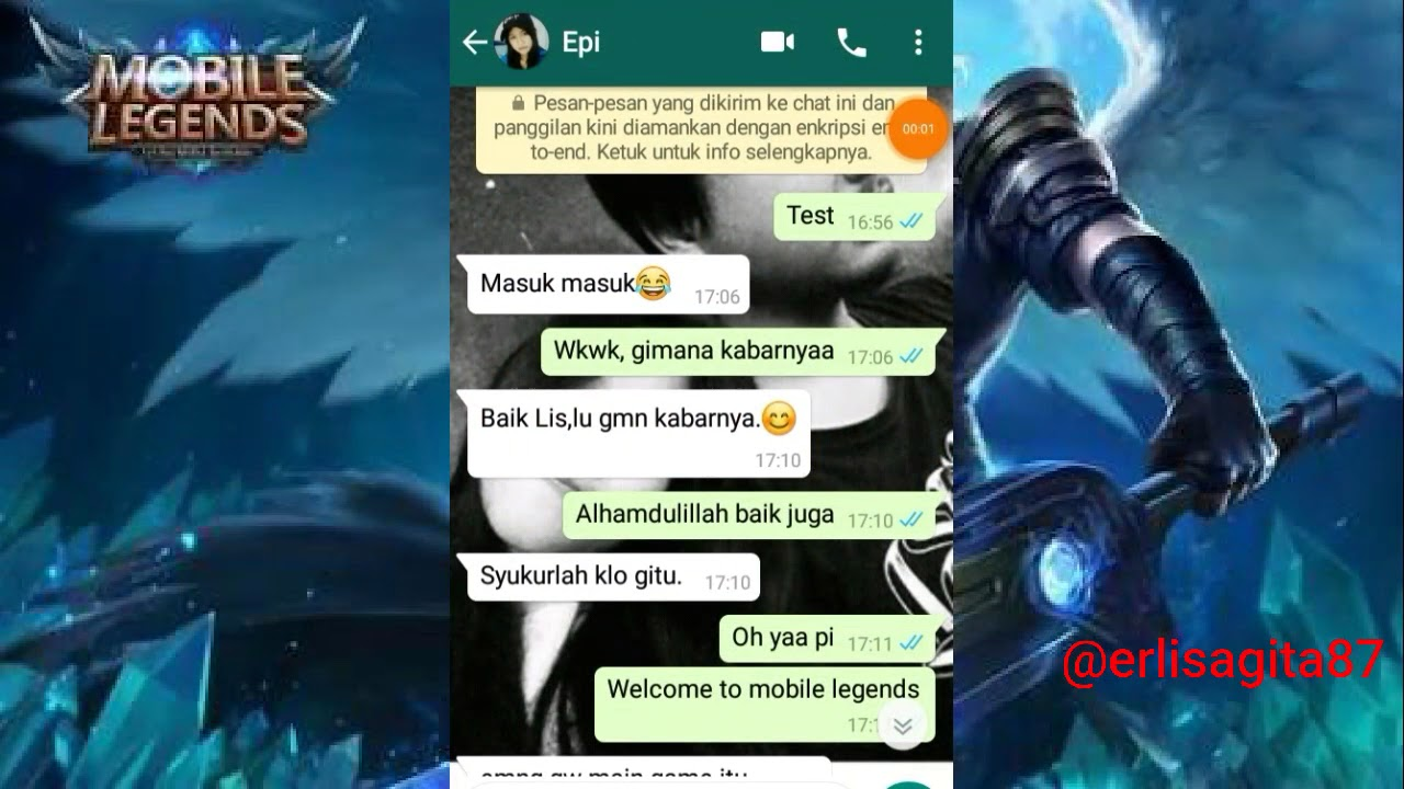 Prank Ngikutin Kata Kata Announcer Voice Mobile Legends Via