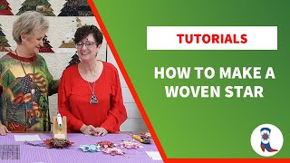 How to make a Woven Star