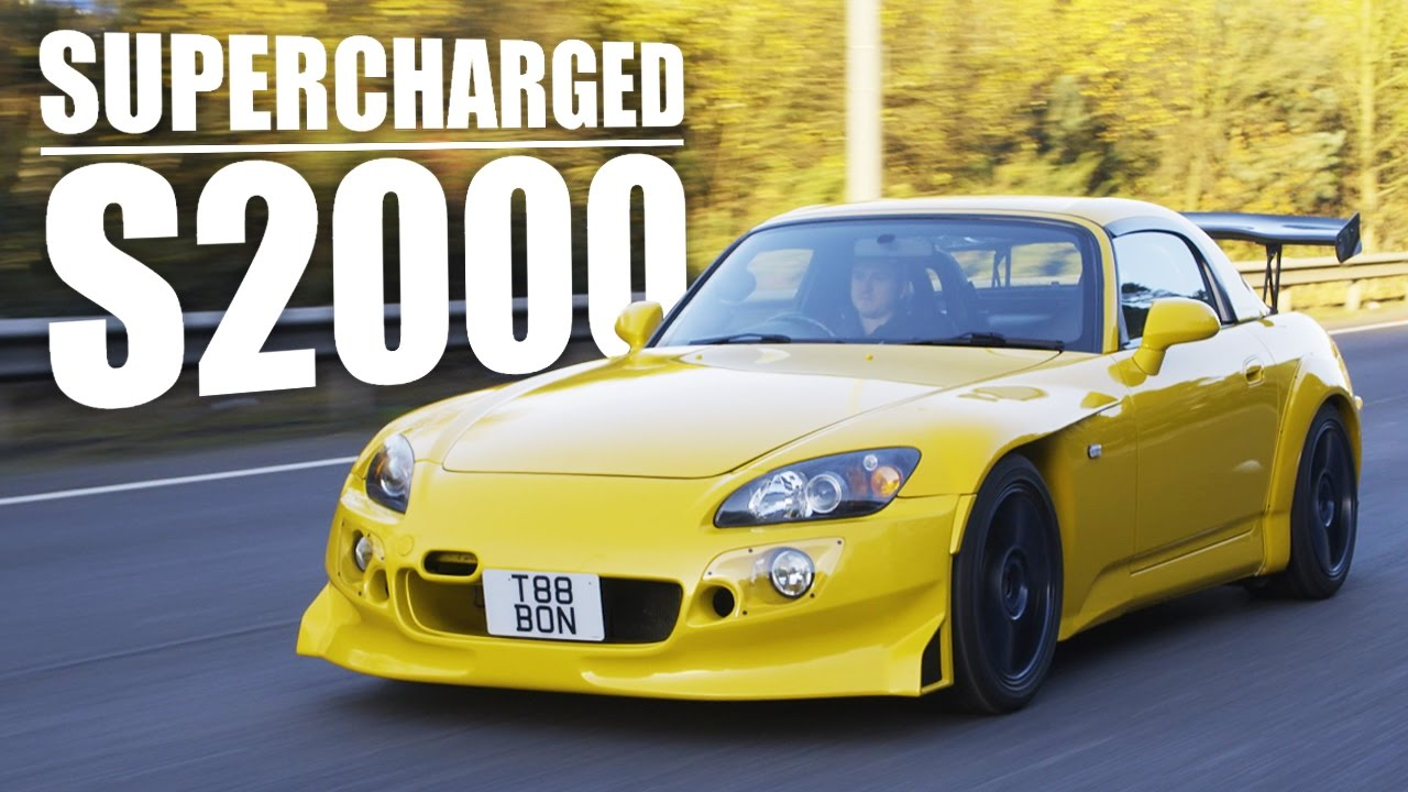I'm In Love With This 400hp Supercharged Honda S2000