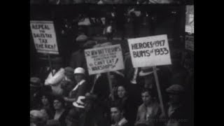 Newsreel: Griffith Park Protest of Fire Disaster  - 1933