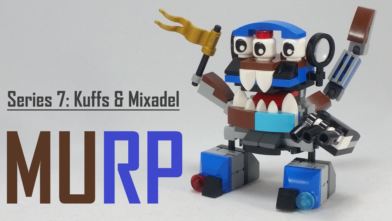 how to make lego mixels
