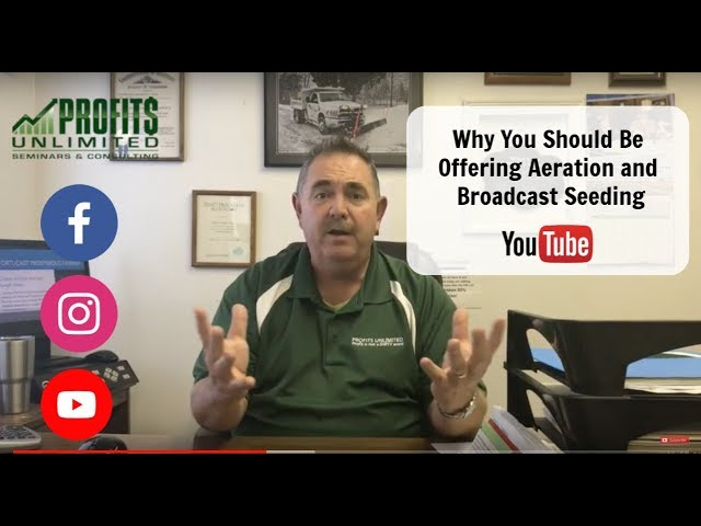 Why Your Company Should Offer Aeration and Broadcast Seeding