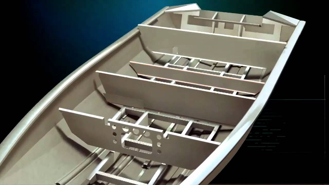 TRACKER Boats: 2013 Boat Construction Overview - YouTube
