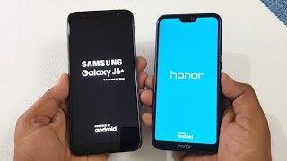 Samsung J6+ vs Honor 9N Speed Test | Ram Management & Camera Test