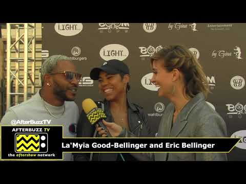 NBA AllStar Weekend Couture Against Cancer  with La'Myia Good–Bellinger and Eric Bellinger