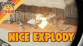 chocoTaco Experiments with Random Squads - PUBG Gameplay