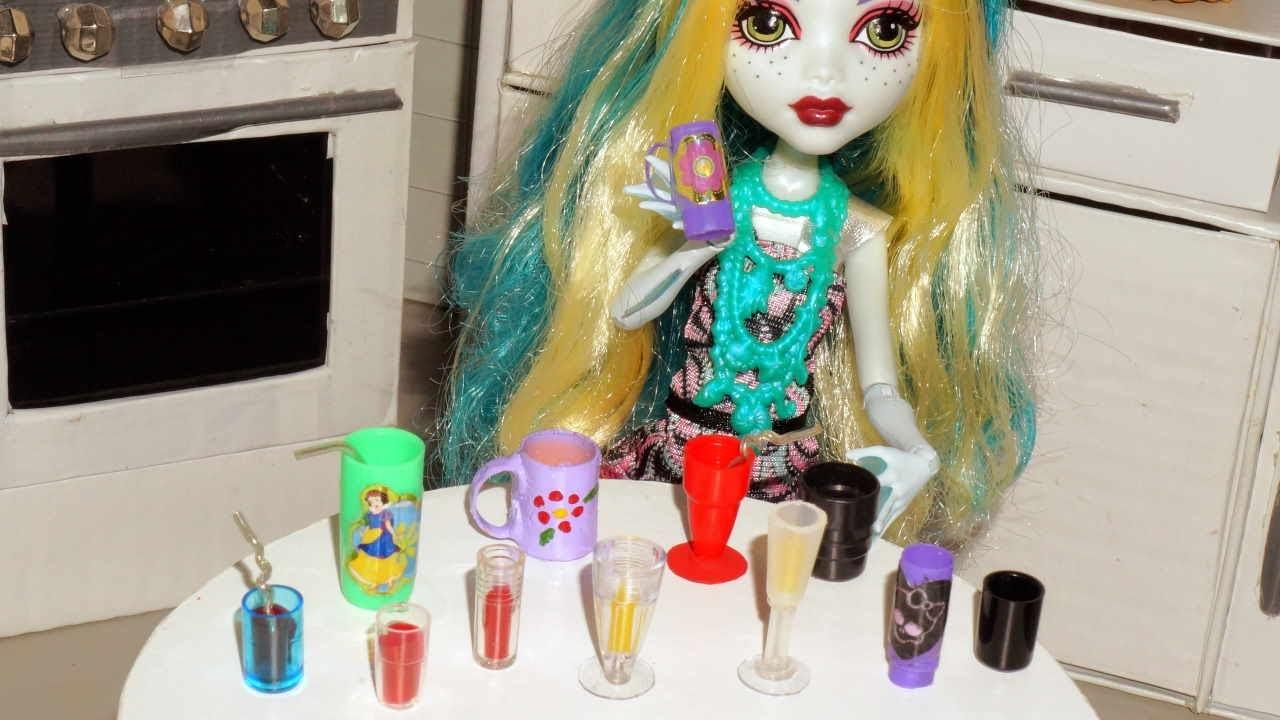 Como Fazer Copos Canecas E Taças Para Boneca Monster High Barbie