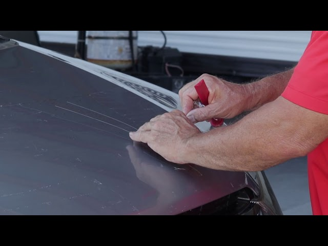 Old Paint Protection Film Removal on Truck - SUV