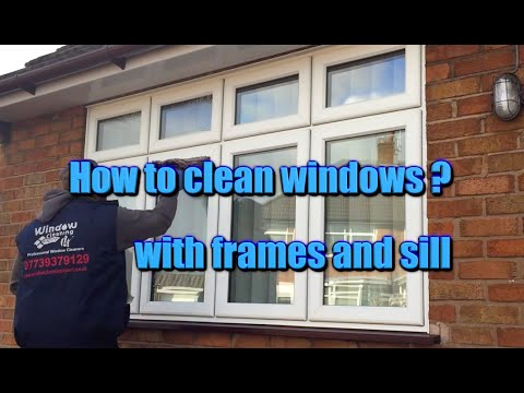 Xpert's window cleaning - How to clean window