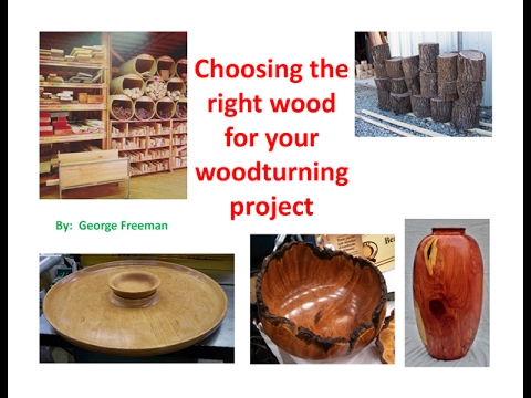wood species - Choosing the right wood for your woodturning