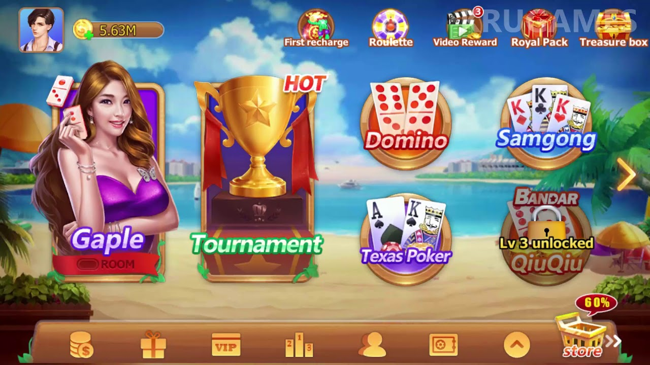 Domino Gaple 2018 Online Game Android Gameplay Youtube