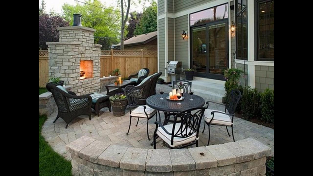Dise os de patio para peque os jardines youtube - Disenos de patios ...