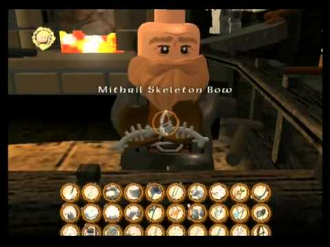 lego lord of the rings walkthrough buying mithril items