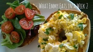 What Emmy Eats in a Week 2