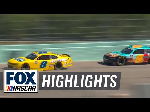 Dale Earnhardt Jr. Highlights from Miami | NASCAR ON FOX HIGHLIGHTS