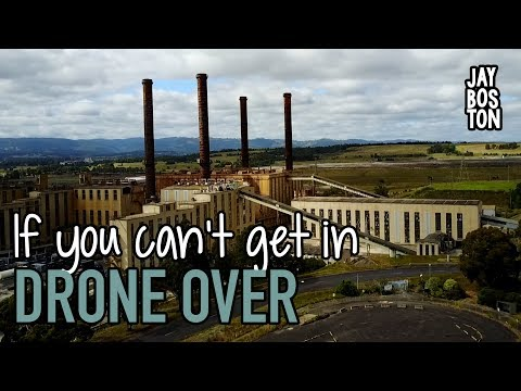 ABANDONED POWER STATION - SECURITY & DRONE EXPLORE