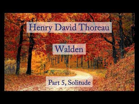 Henry David Thoreau: Walden - Solitude (Audiobook)