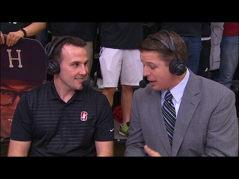 Stanford wrestling head coach Jason Borrelli previews Pac-12 Wrestling Championships