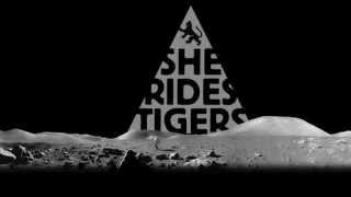 SHE RIDES TIGERS   Roll With It (Lyric Video)