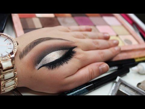 Hand Art Cut Crease Speed Tutorial | Inglot Eyeshadows - Zanemua