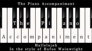 Rufus Wainwright - Hallelujah (Piano Karaoke)