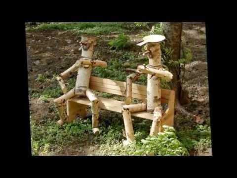 30 примеров какую поделку можно сделать для дачи и сада