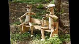 Поделки из дерева для дачи (45 фото): особенности деревянных изделий из фанеры, бревен, фото и видео