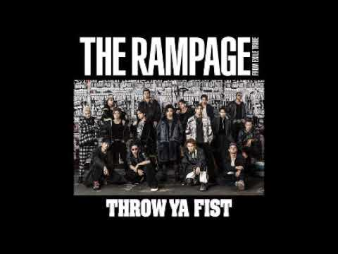THE RAMPAGE From EXILE TRIBE DOWN BY LAW Cover