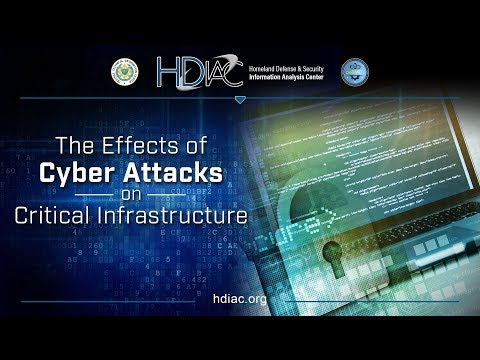 Effects of Cyber Attacks on Critical Infrastructure