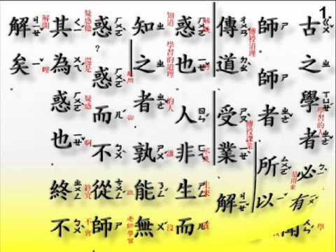 古文觀止 - 五柳先生傳. ( 注音+白話翻譯 ) | Doovi