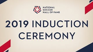 2019 National Soccer Hall of Fame Induction Ceremony
