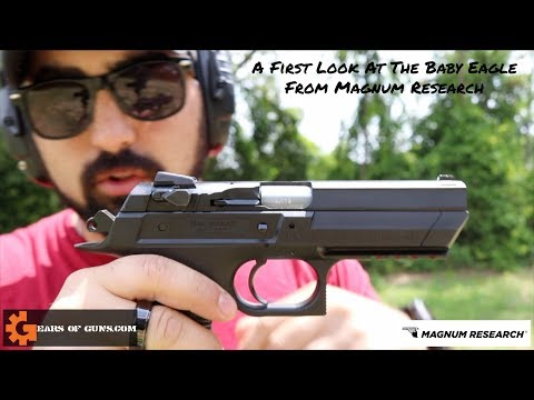 A First Look At The Magnum Research Baby Eagle Chambered In 9mm