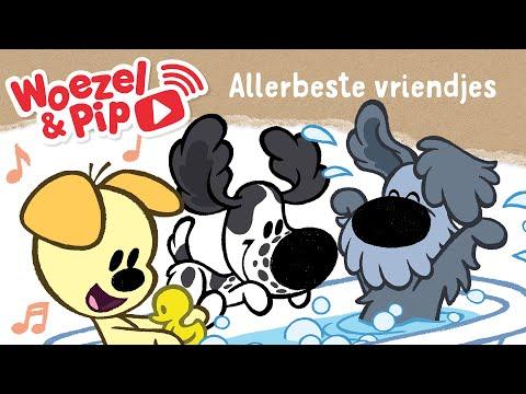Woezel en Pip - Allerbeste vriendjes (Videoclip)