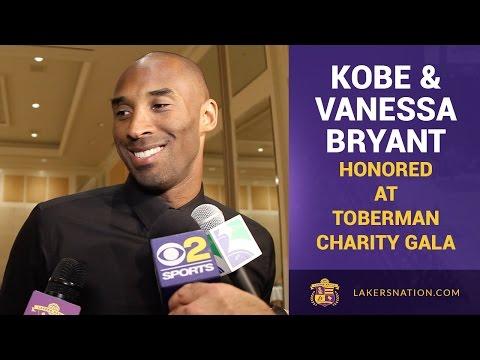 Kobe & Vanessa Bryant Honored At Toberman Charity Gala