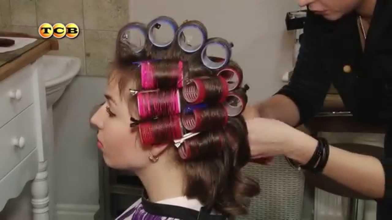 Как накрутить на волосы электрические бигуди