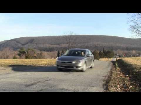 Mitsubishi Lancer SE AWC Road Test & Review by Drivin' Ivan Katz