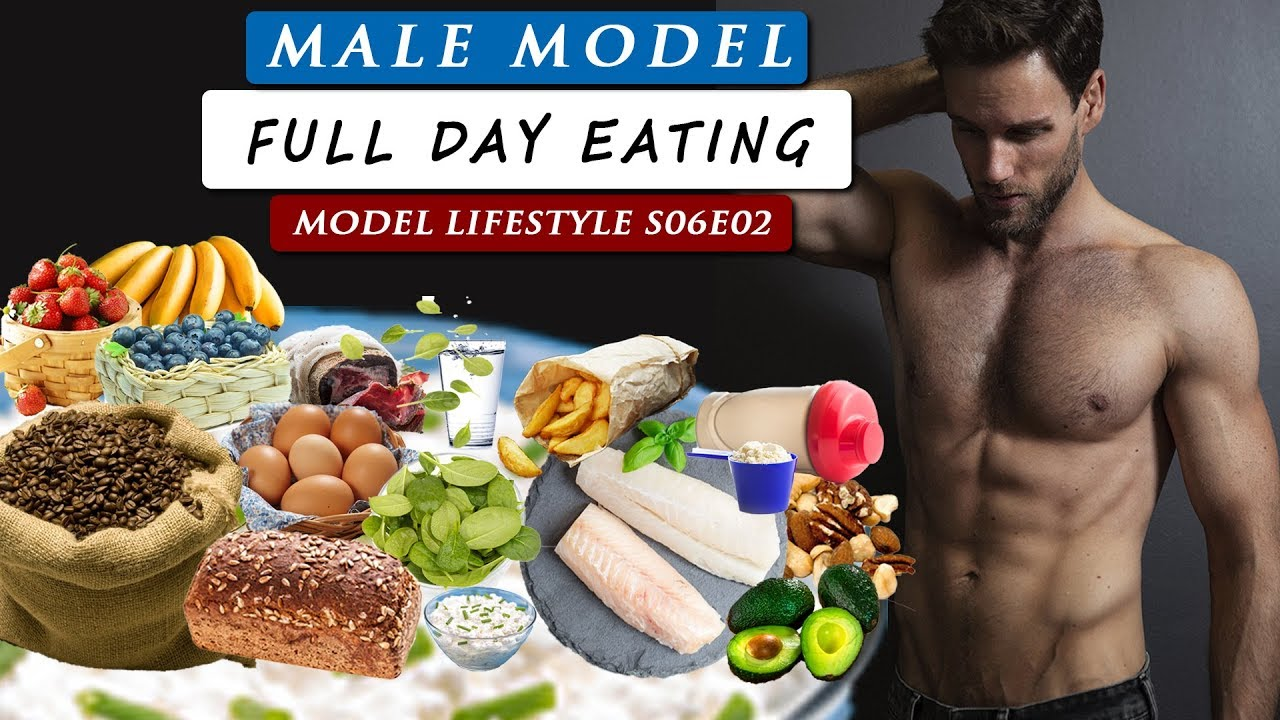 What do I EAT IN A DAY as a MALE MODEL | Model Lifestyle S06E02