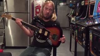 Left Handed NOS Kurt Cobain Fender Jaguar review!