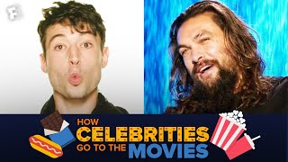 How Celebrities Go to the Movies - PART 4 | Fandango All Access