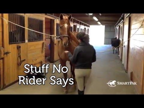 Stuff No Rider Says