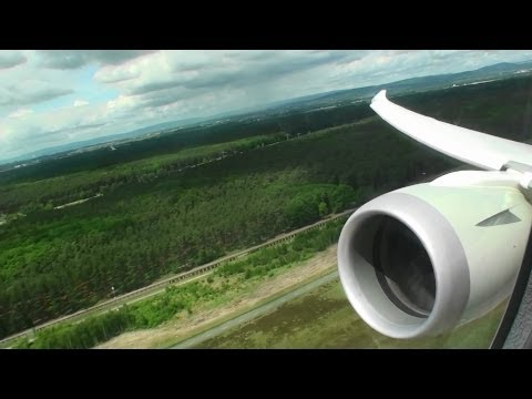 Fantastic Business Class HD Boeing 787 Dreamliner Takeoff From Frankfurt On Qatar Airways!!!