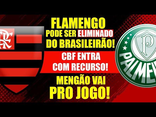 FLAMENGO EM SÃO PAULO! CBF ENTRA COM RECURSO! PARTIDA CONTINUA SUSPENSA!